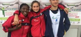 I nostri tre moschettieri under 16 felici a Cles: i risultati di Cocu, Compaore e Faggion agli italiani cadetti