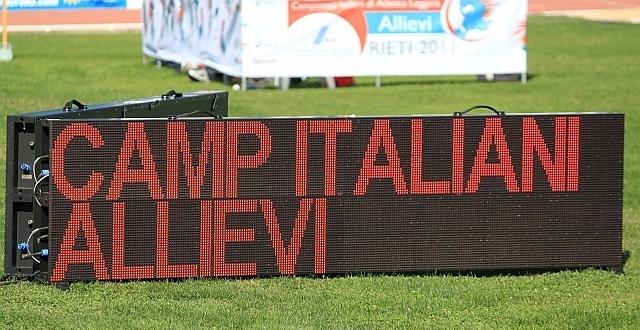 Nevi&Sanp tocca agli italiani allievi #ROADtoRIETI2017