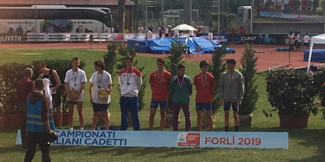 Andrea Polo settimo agli italiani cadetti a Forlì