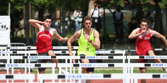 Andrea Gatti campione regionale assoluto nei 110hs, Mattia Ghiraldo promessa nel triplo, a Trieste vola Andrea Polo.